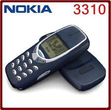 Téléphone portable Nokia 3310 mobile neuf et débloqué vintage bleu