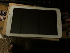 """Samsung Galaxy Tab 3 8"""" 16GB Android Tablet White comes with case"""