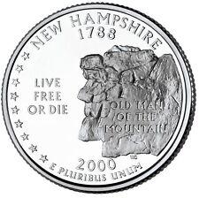 2000 P New Hampshire Quarter BU