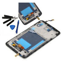 Black LCD Screen Display Touch Digitizer Assembly For LG Optimus G2 D802 + Frame