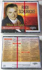 RUDI SCHURICKE Meine größten Erfolge / 70 Titel Readers Digest 3-CD-Box OVP/NEU