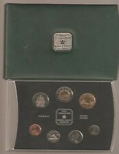 2001 Specimen Set of Canadian Coinage from Royal Canadian Mint L637