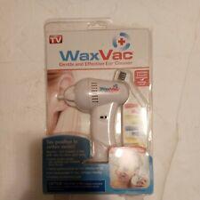 Wax Vac ear cleaner rimozione della cera a pile 8 PUNTE NUOVO SIGILLATO AS Seen on TV