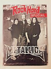 Metallica Rock Hard German Metal Magazine Mini Insert* Slayer Megadeth Anthrax