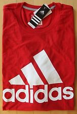 NWT ADIDAS MEN'S Big & Tall Climalite Go To Performance Athletic T-Shirt 3XL Red