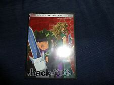 Hack/Sign dvd ver 03-Anime- New