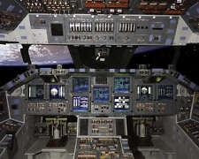 NASA SPACE SHUTTLE GLASS COCKPIT PANEL 8x10 PHOTO
