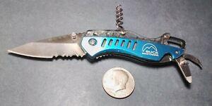 Discontinued Buck Whittaker 760 Summit Knife Corkscrew multi tool EDC Taiwan