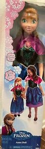 """Disney Frozen My Size Anna 38"""" Life Size Barbie Type Doll over 3 feet NEW"""