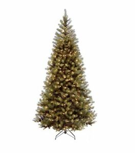 National Tree Company 6 ft. Aspen Spruce Artificial Christmas Tree Clear Lights