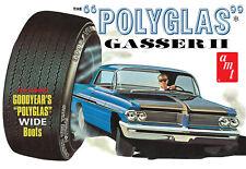 1:25 AMT 1962 Pontiac Catalina POLYGLASS GASSER II  Plastic Model Kit NEW SEALED