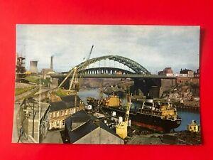 Wearmouth Bridge, Sunderland. c.1960's.