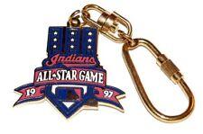 Vintage Cleveland Indians 1997 All Star MLB Game Key Chain Souvenir