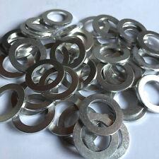 50 x Aluminium Sump Plug Washers - 14x22x2 - Mitsubishi