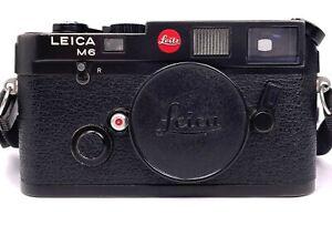 Leica M6 schwarz werkstattüberholt
