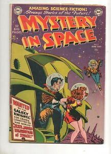 Mystery In Space #2 Knights of the Galaxy 1951 F/VF 7.0 BEAUTY! 1ST ANDERSON ART