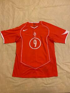 Holland Home Football Soccer Shirt Jersey 2004 Size M