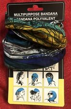 Multipurpose Head Face Mask Snood Bandana Neck Sport Scarf - Abstract Colors