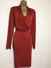 BNWT COAST Destiny Russet Stretch Wiggle Occasion Dress Size 16