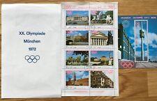 Set of 9 Munich 1972 Olympics Yemen Arab Republic Postage stamps Olympic City
