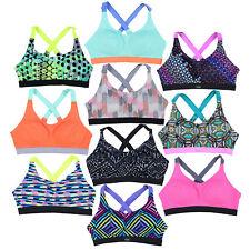 Victoria's Secret спортивный бюстгальтер легкая беспроводная средний поддержки дышащей новые