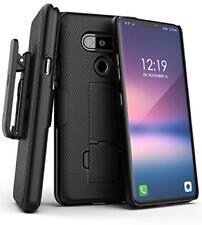 Encased LG V40 Belt Clip Case Slim Fit DuraClip Series Grip Cover w/ Holster