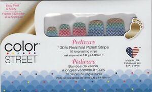 CS Nail Color Strips Any Fin Goes Pedicure 100% Nail Polish - USA Made!