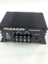 MASCOT5060 Converter 24VDC in 12VDC out Max 3A