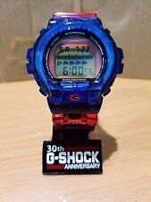 Vintage G-Shock DW-6900 Custom Full Jelly Blue-Red TF Optimus Autobot Limited