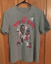 Nike Air Jordan 3 Michael Jordan Spike Lee The Best On Mars T Shirt Small Gray