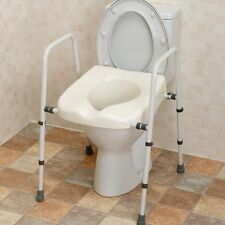 NRS M66613 Mowbray Toilet Seat Frame Lite Adjustable Mobility Disability Support