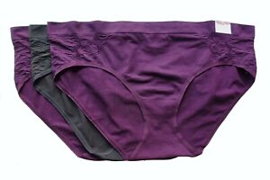 3 Cacique Lane Bryant Lace Level 1 Smoother Hipster Panties 14/16