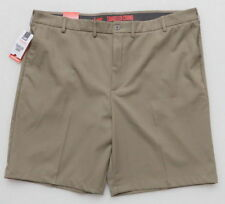 Lee Dungarees Polyester 42 W 4 Way Stretch Beige Solid Shorts SR$46 NEW