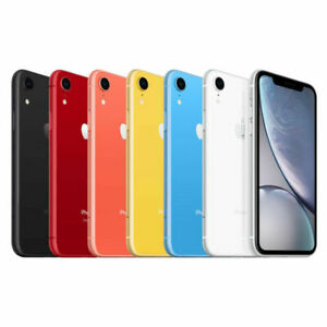 Apple iPhone XR 64GB 128GB 256GB Factory Unlocked Excellent Condition