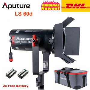 DHL Aputure LS 60d 60W LED Video Light Bowens Mount 5600K Daylight with Barndoor