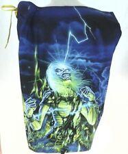 EUC Vans Iron Maiden Swim Surf Trunks Badeshorts Live After Death SZ 36 selten!!!