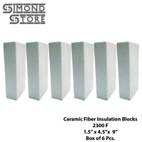 "Calcium Silicate Insulation Board 1000C//1832F 1/"" x 12/"" x 23.6/"""