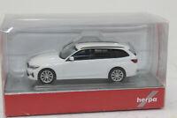Herpa 420839 BMW 3ER TOURING  ALPINWEISS   H0  1:87 NEU in OVP