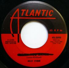 BILLY STORM with group 45 When You Dance / Dear One ATLANTIC doo wop NM Ws786