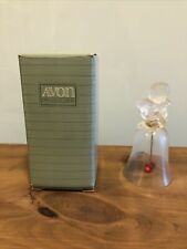 Avon 1991 Love Crystal Bell With Box