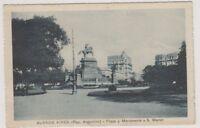 Argentina postcard - Buenos Aires, Plaza y Monumento a S. Martin (A3)