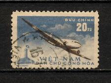 (YYAZ 462) Vietnam 1959 USED Mich 109 Scott C1 Plane Air Mail
