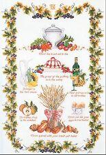 Thea Gouverneur  2027A   Sampler cuisine  Kit  Point de croix  Compté