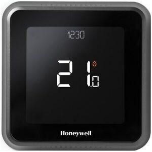Honeywell Digital Thermostat-wired,T6 Wi-Fi (Lyric),Wall-Mount Control App-Black