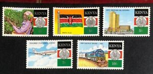 Kenya - 1988 - 25th Anniversary of Independence - Set - Unmounted Mint.