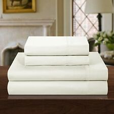 Chic Home 1000 Thread Count 4-Piece Luxury Sheet Set, Solid Beige, King