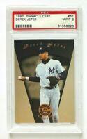 1997 Pinnacle Certified Derek Jeter Card #51, PSA 9 Mint, NY Yankees Legend!