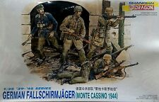 Dragon 1/35 6005 WWII German Fallschirmjager (Monte Cassino 1944) (4 Figures)