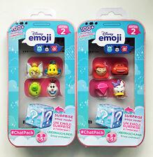 Disney Emoji #ChatPack Chat Pack Series 2 Bundle with 10 Emojies