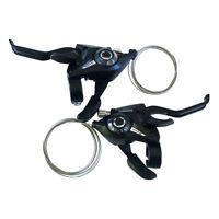 Shimano ST-EF51 Shifter/Brake Lever 3,7,8,21,24 Speed / Set Black V-Brake